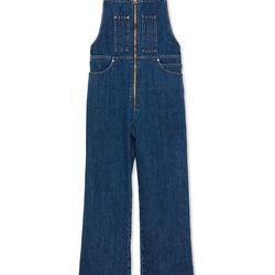 "<a href=""https://www.alexachung.com/row/zip-front-dungarees-mid-vintage-wash-49"">Zip-Front Dungarees</a>, $445"