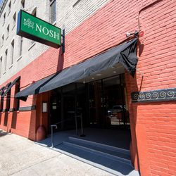 NOSH takes the spot that used to house Tommy's Wine Bar. It still connects by an interior door to Tommy's Cuisine.