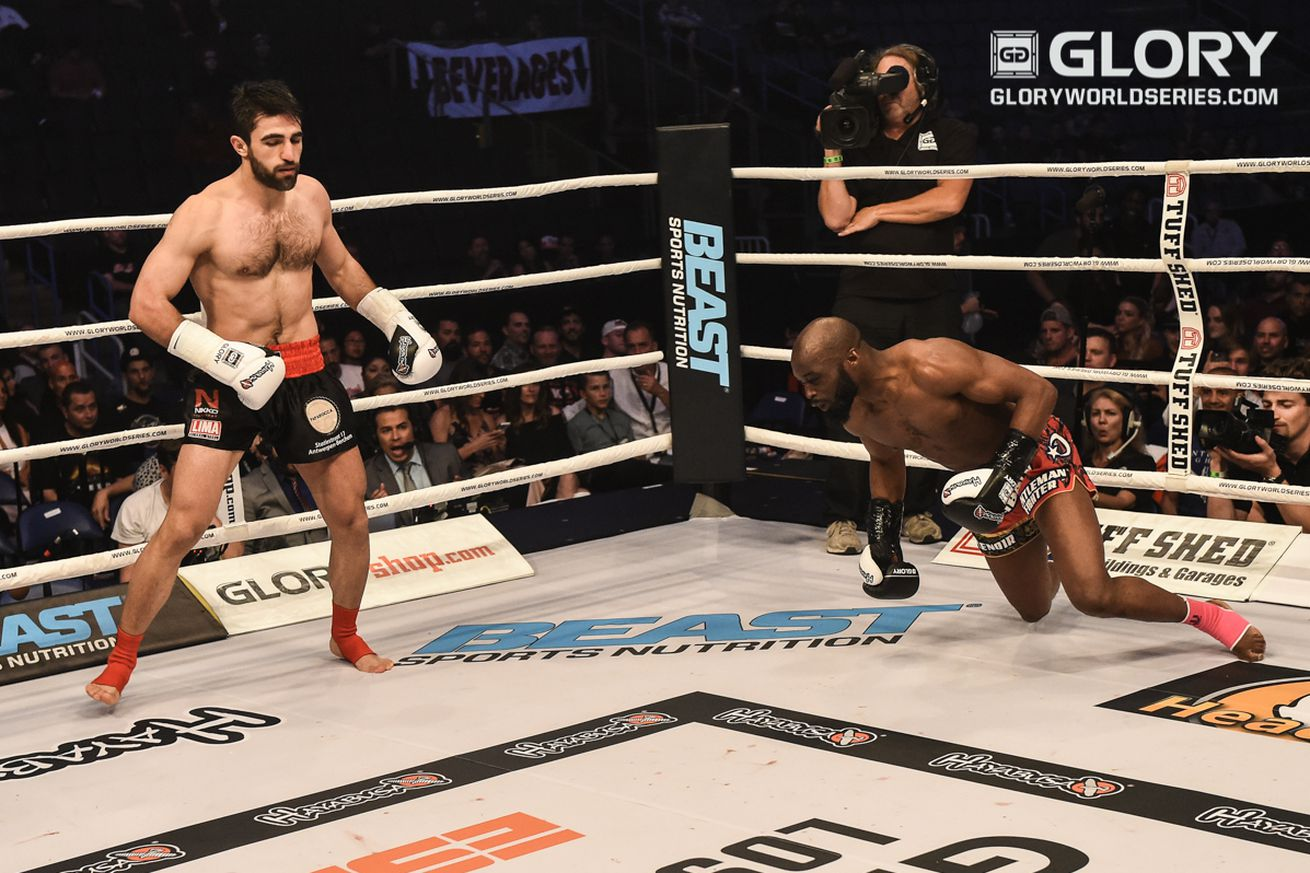 community news, Video: Marat Grigorian knocks out Coulibaly Djime cold with a vicious head kick at GLORY 30