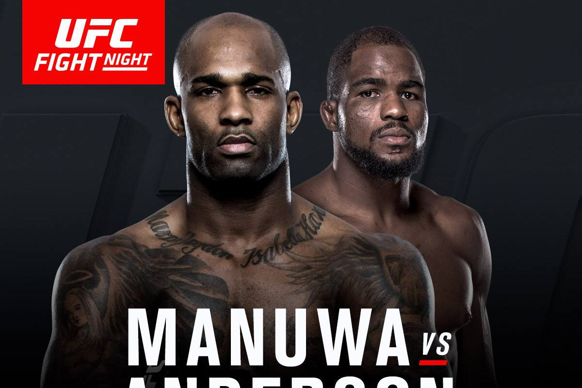 UFC Fight Night 107. Manuwa vs. Anderson