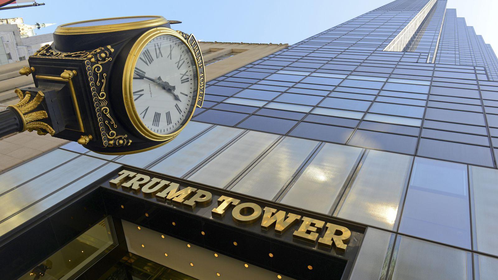 trump tower residents list