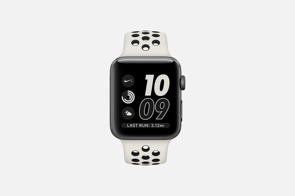 Nike launching new Apple Watch NikeLab style with Light Bone/Black band
