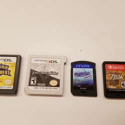 Here's another look to get a sense of how the recent handheld console's cartridges compare. The Switch cart is noticeably chunkier than the Vita's, but it's still shockingly small.
