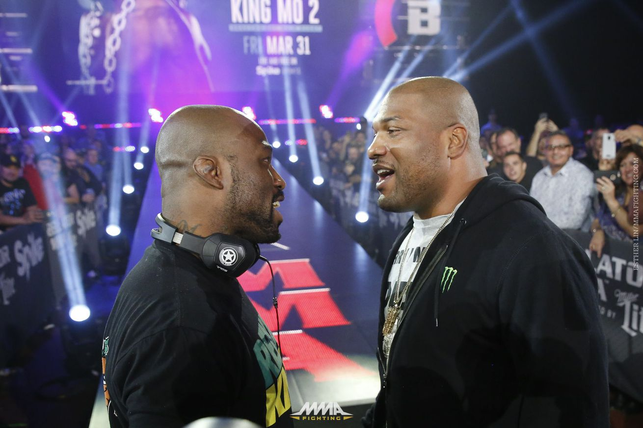'Rampage' Jackson vs. 'King Mo' Lawal 2 set to headline Bellator 175