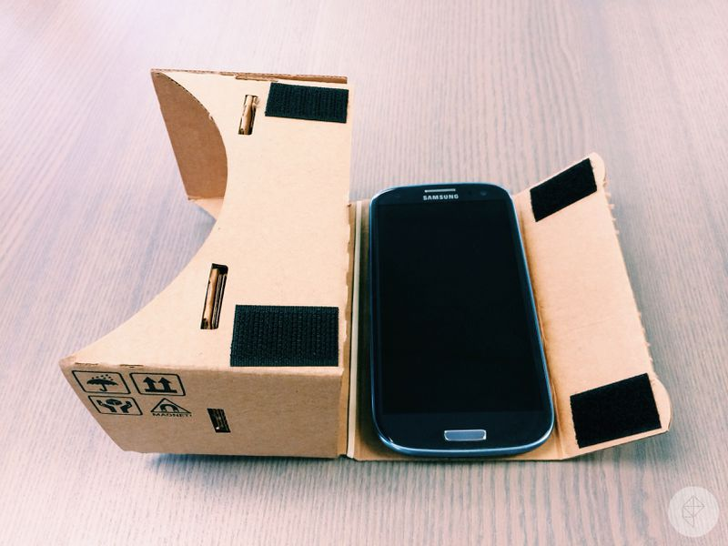 cardboard vr headset instructions