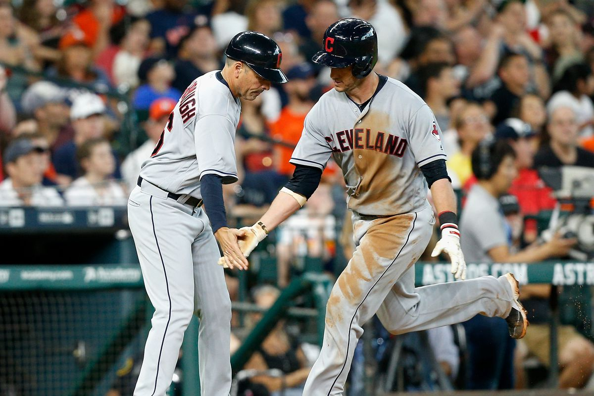 Indians perk up after sweep of AL West leader