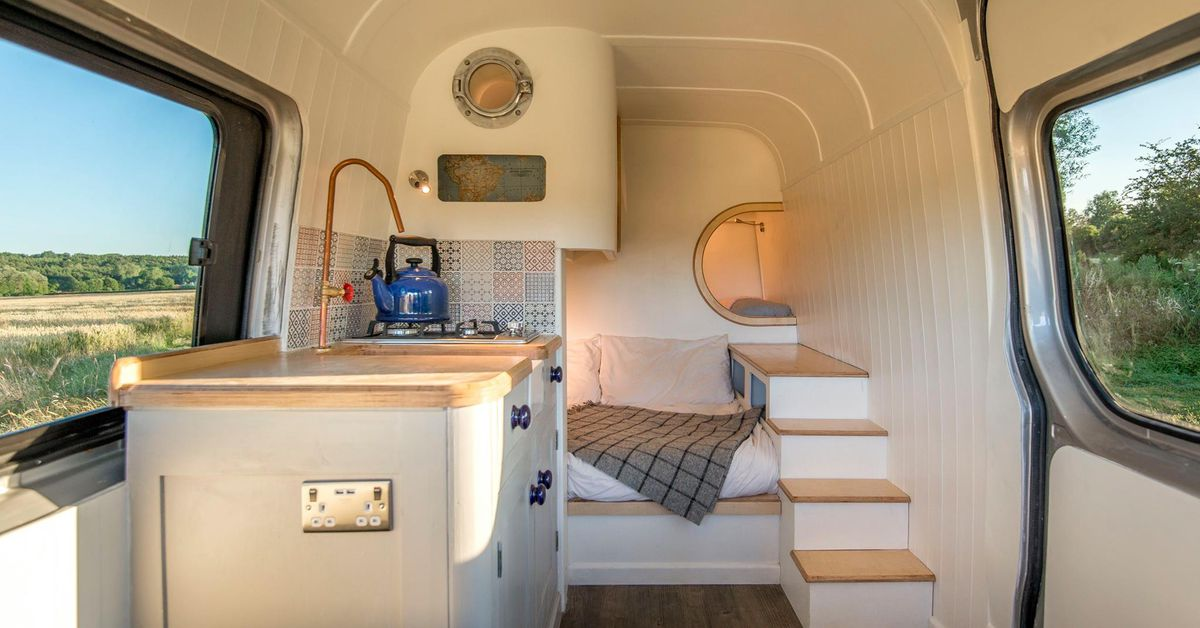 Converted Sprinter Van Is A Cozy Tiny Home On Wheels