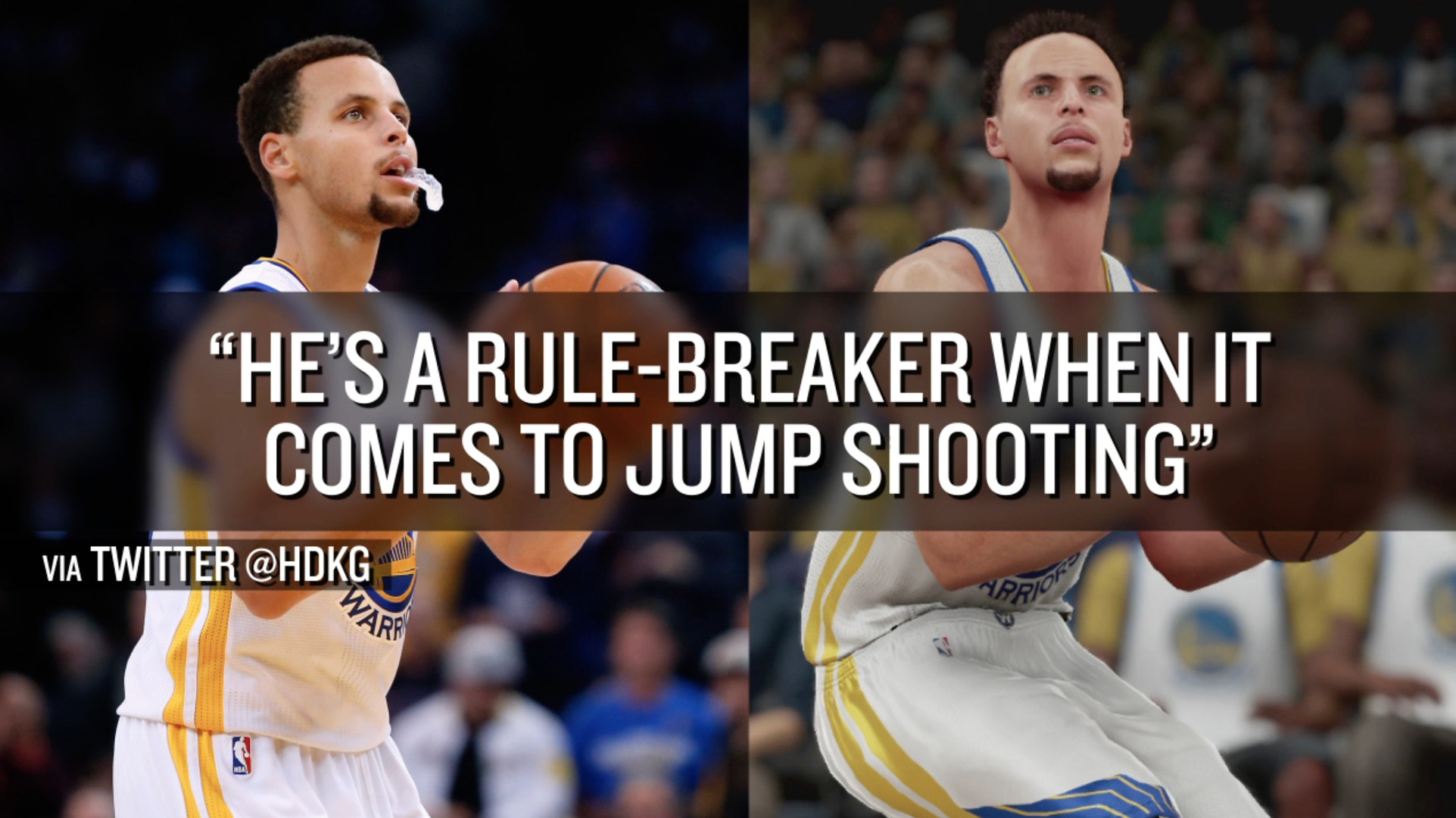 The absurdness of Stephen Curry's 300th 3-pointer of the season sums up the other 299