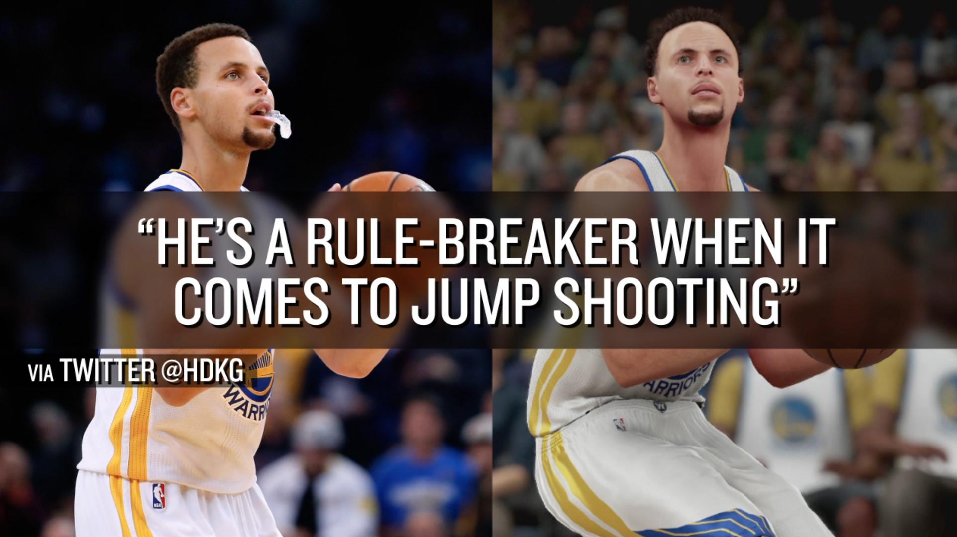 Steph Curry is so good that he's broken 'NBA 2K' - SBNation com