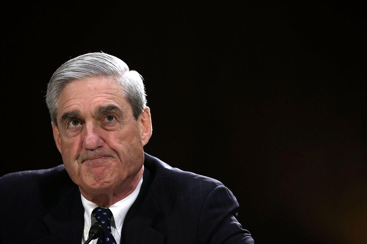 Former FBI Director Robert Mueller testifies during a hearing before the Senate Judiciary Committee