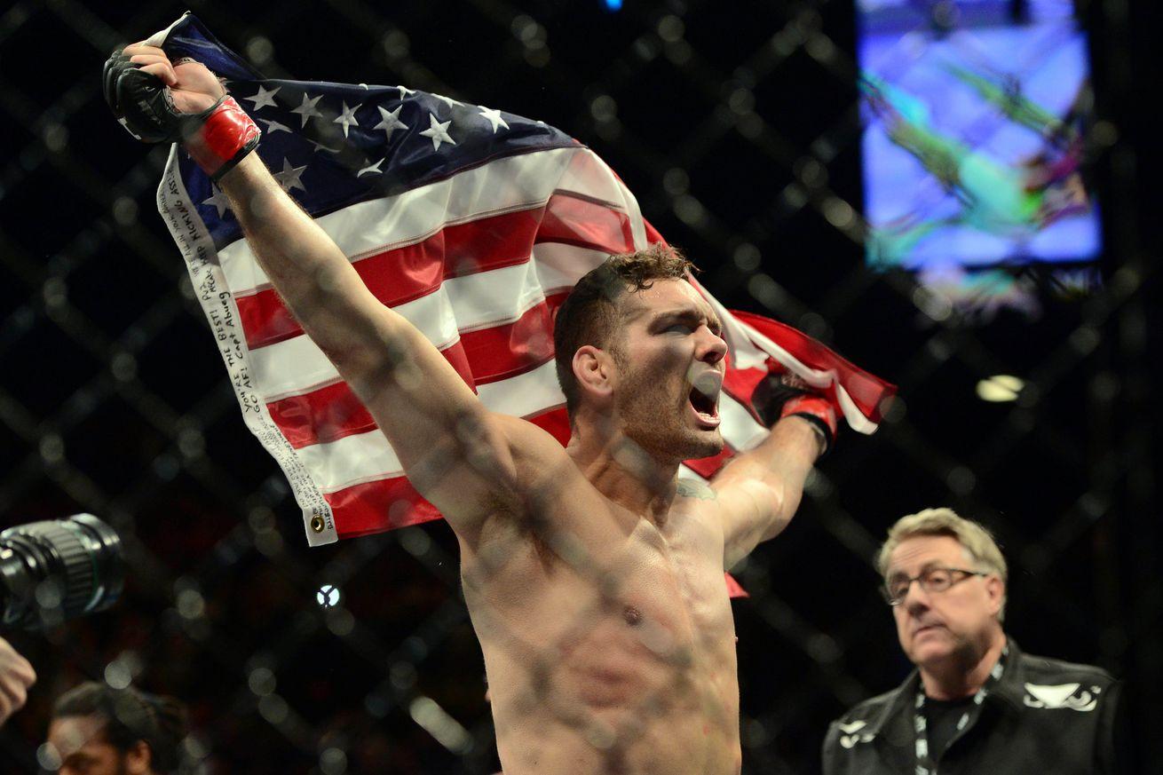 'Confident' Chris Weidman vows to make always calm Gegard Mousasi 'panic' at UFC 210