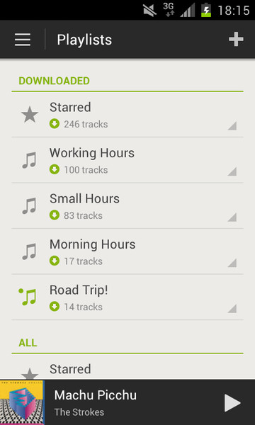 how to play local spotify files on android