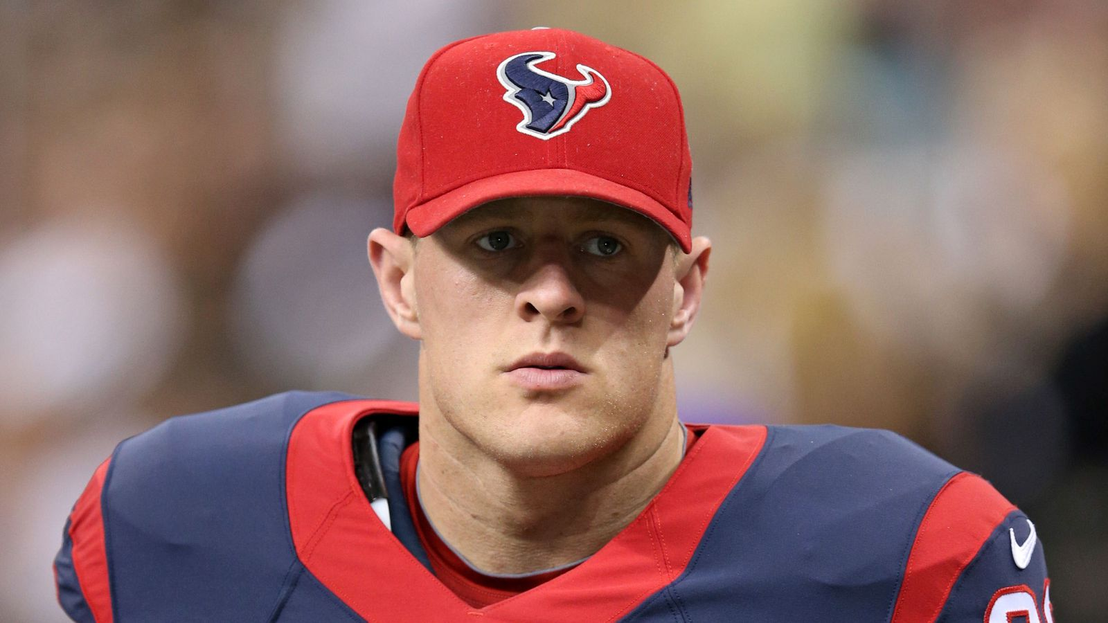 NFL Jersey's Pro Line Men's Houston Texans Lynden Trail Team Color Jersey