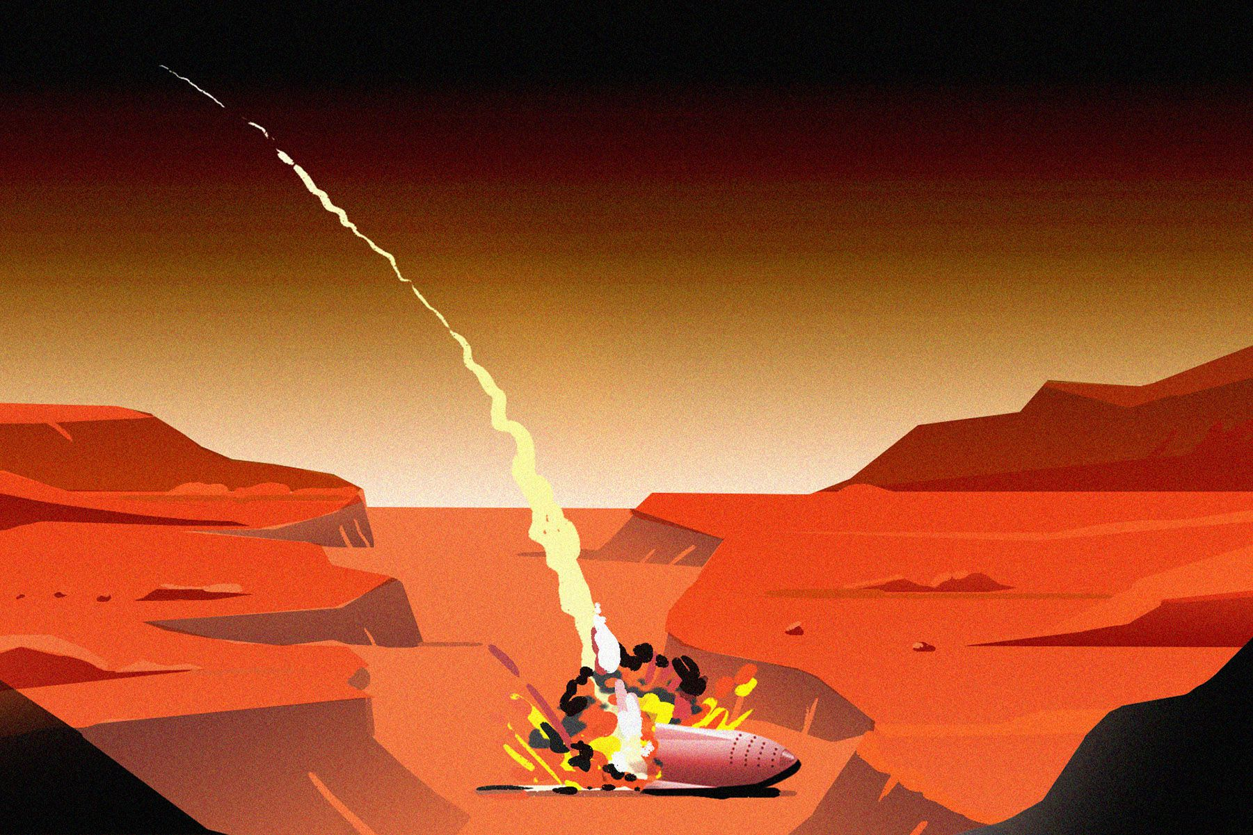 The top 7 ways a trip to Mars could kill you, illustrated ...