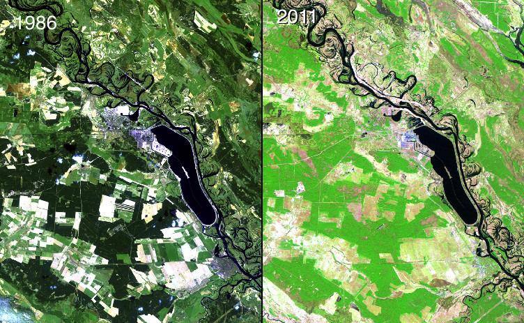 (NASA, Images of Change)