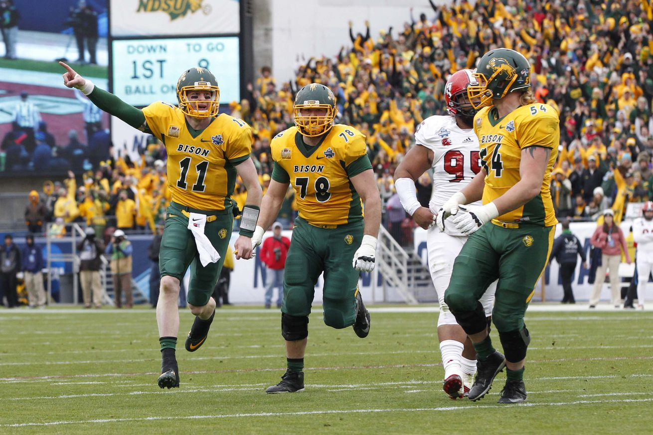 Bison win fifth straight national championship