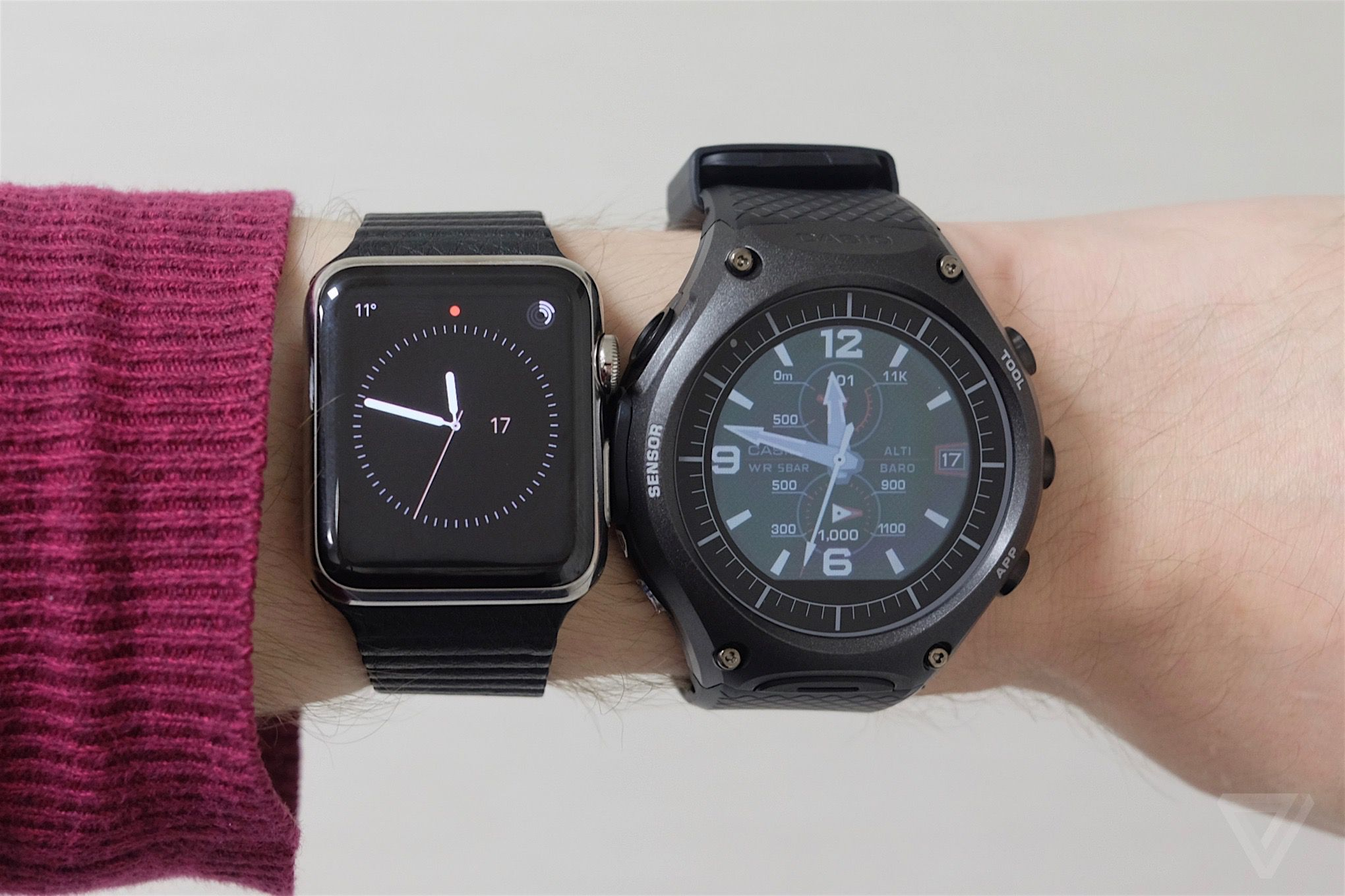 Casio's first smartwatch brings Android Wear outdoors ...