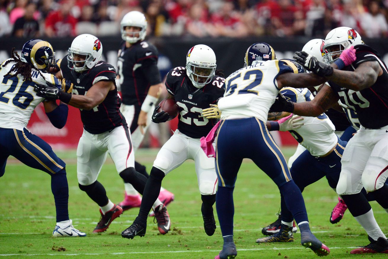 Jerseys NFL Outlet - Arizona Cardinals offensive snap count from Week 4 game vs. Rams ...