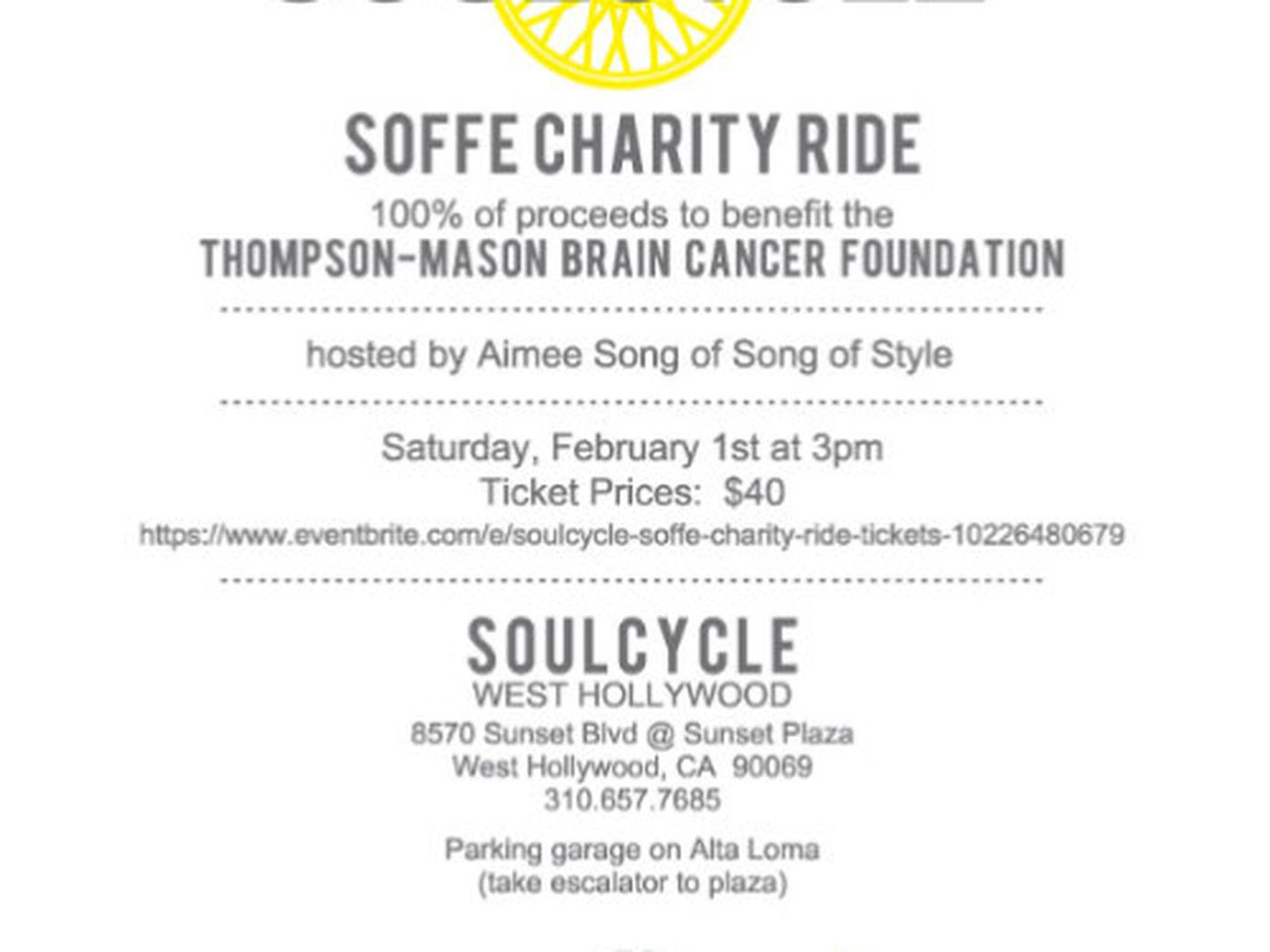 soulcycle ride aimee song lululemon athletica party racked la