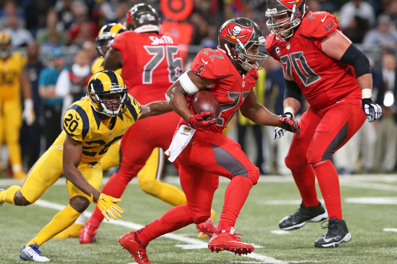 Wholesale NFL Nike Jerseys - Pro Bowl 2016: Doug Martin and Gerald McCoy in; Lavonte David ...