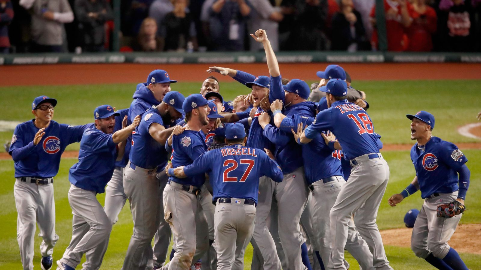 cubs score series indians final chicago game vs championship