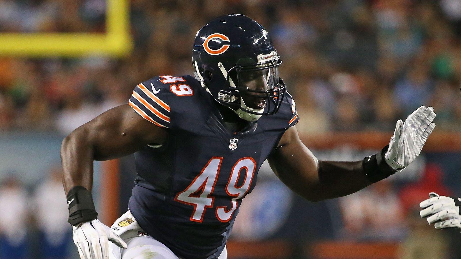 Jerseys NFL Sale - Chicago Bears re-sign outside linebacker Sam Acho - Windy City ...