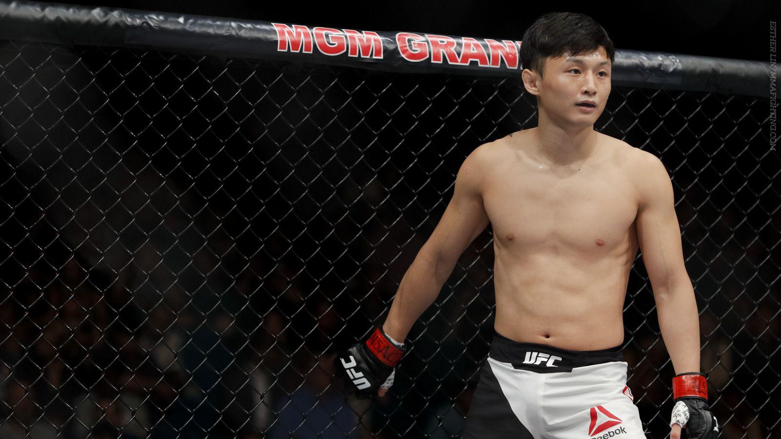 Doo Ho Choi meets Cub Swanson at UFC 206