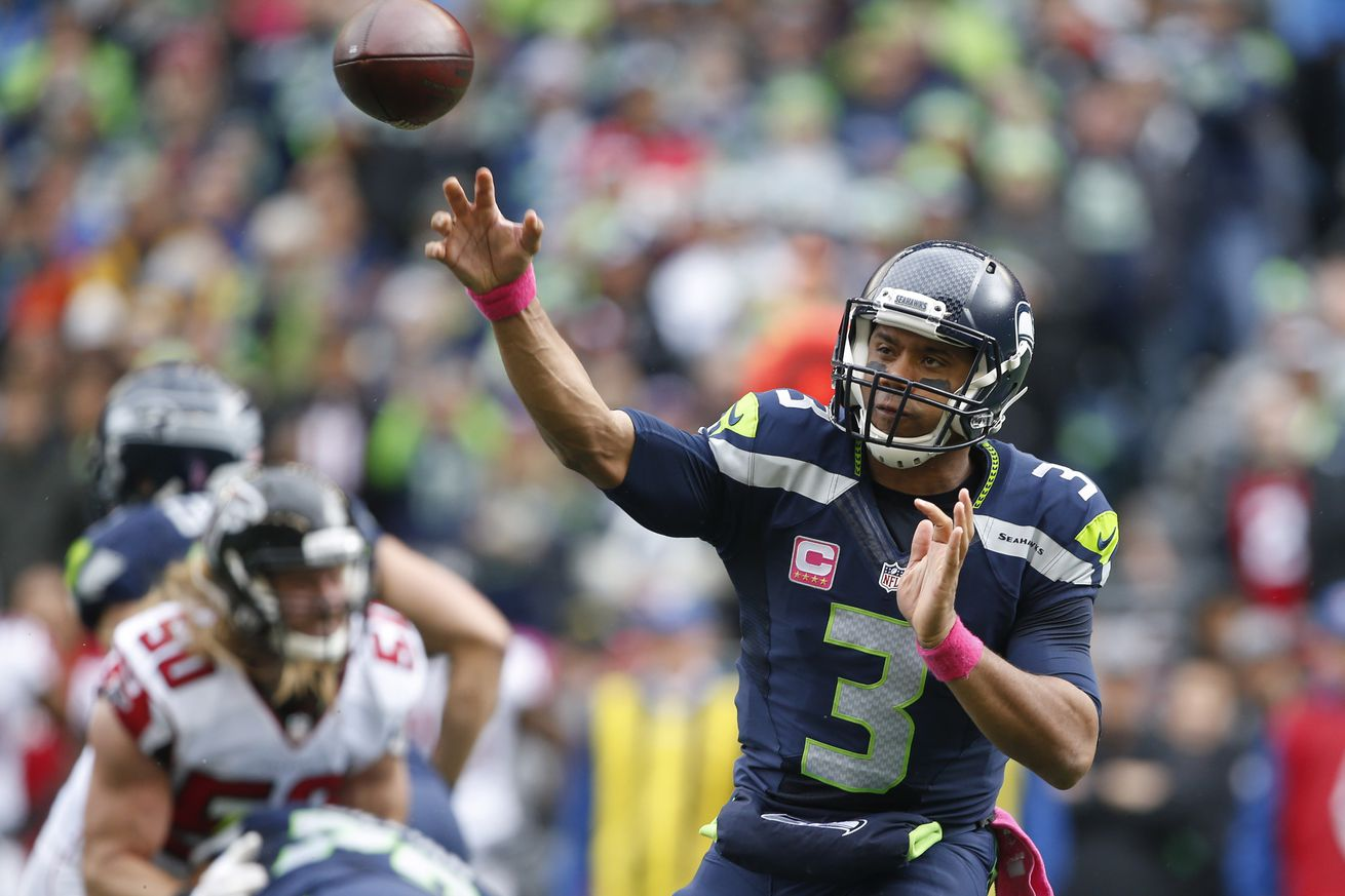 5 videos of Russell Wilson mic'd up vs Falcons