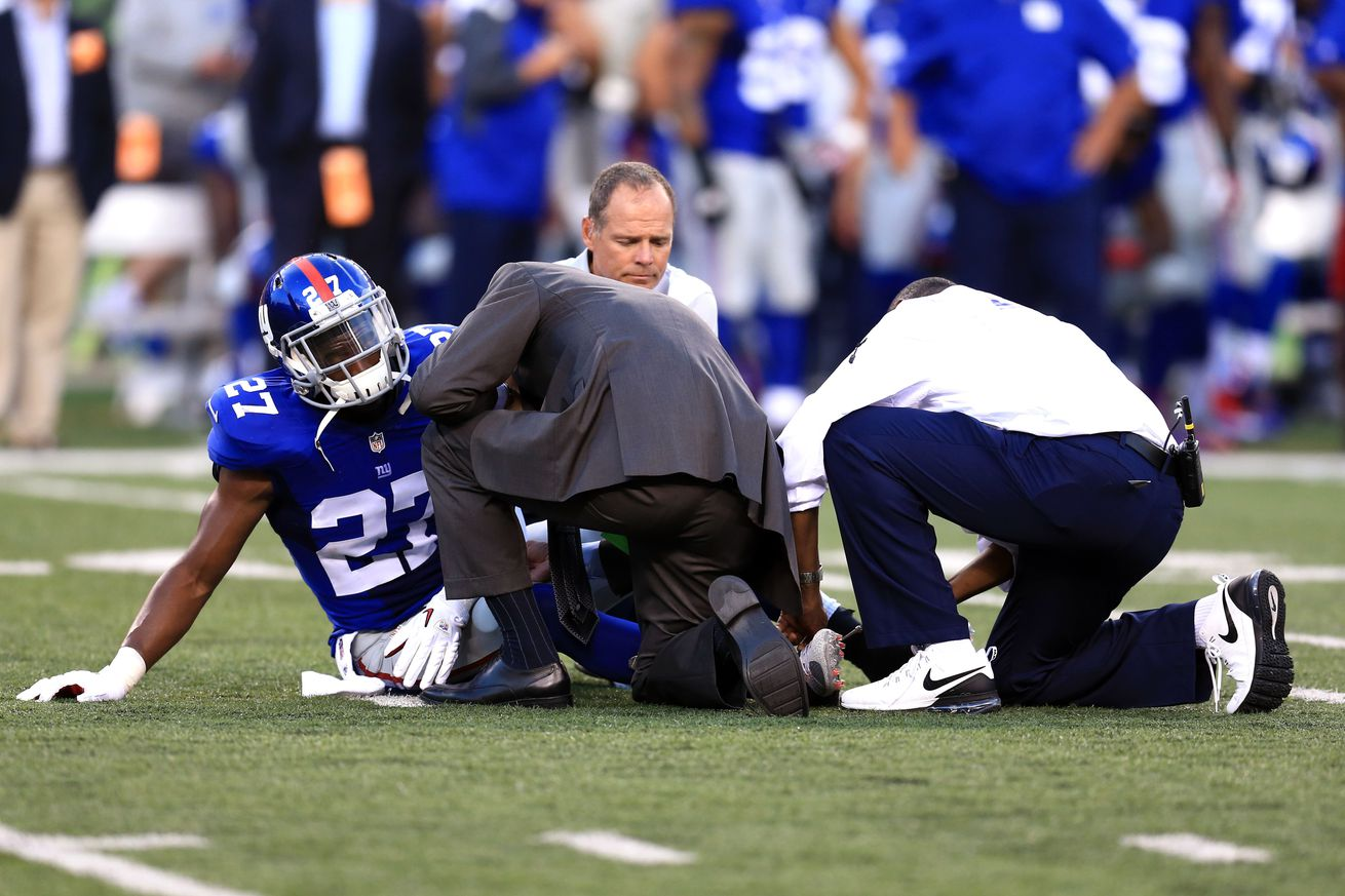 NFL Jerseys Online - New York Giants once again led NFL in Adjusted Games Lost - Big ...