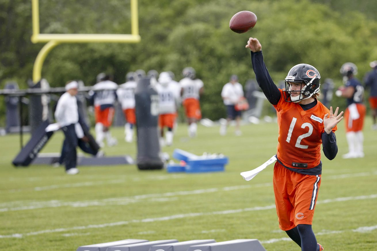 Jerseys NFL Wholesale - How many quarterbacks will the Chicago Bears carry in 2015 ...