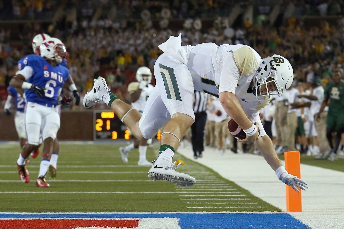 SMU already better, now faces challenge at No. 23 Baylor