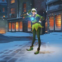 Overwatch Winter Wonderland update