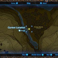 Zelda: Breath of the Wild: Toto Sah shrine location and