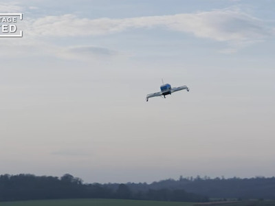 This Is What a Drone Delivery Actually Looks Like