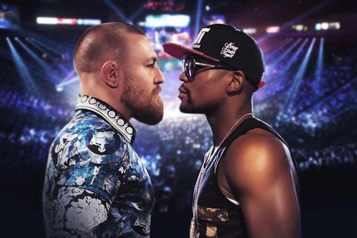 Resultado de imagen de McGregor vs. Mayweather