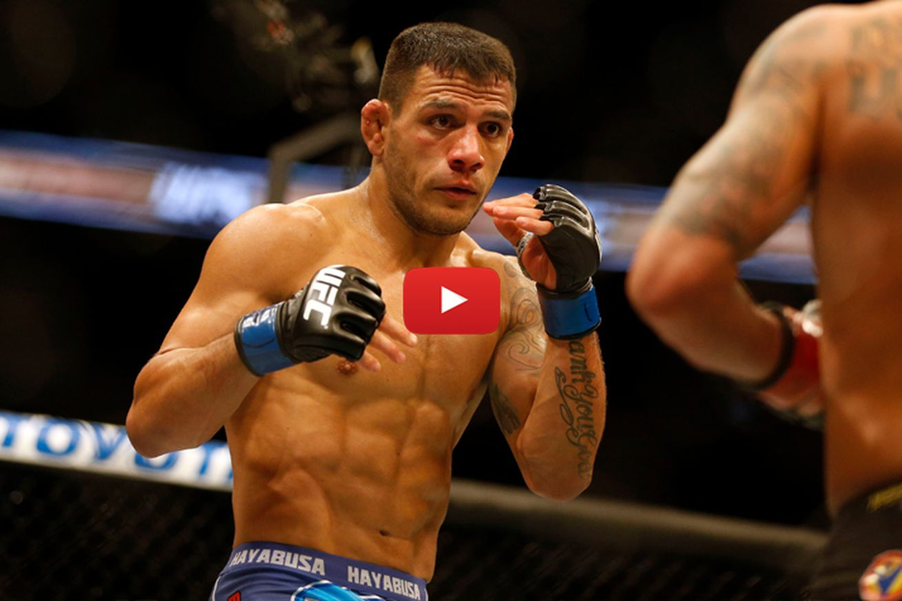 community news, Rafael dos Anjos vs Eddie Alvarez full fight video preview for UFC Fight Night 90 main event