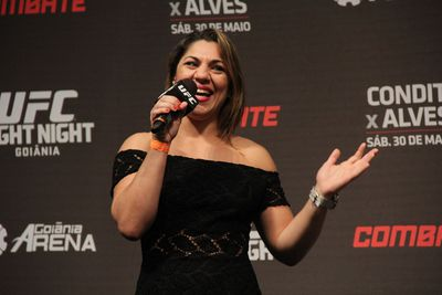 Bethe Correia: I won't crack under pressure like Vitor Belfort