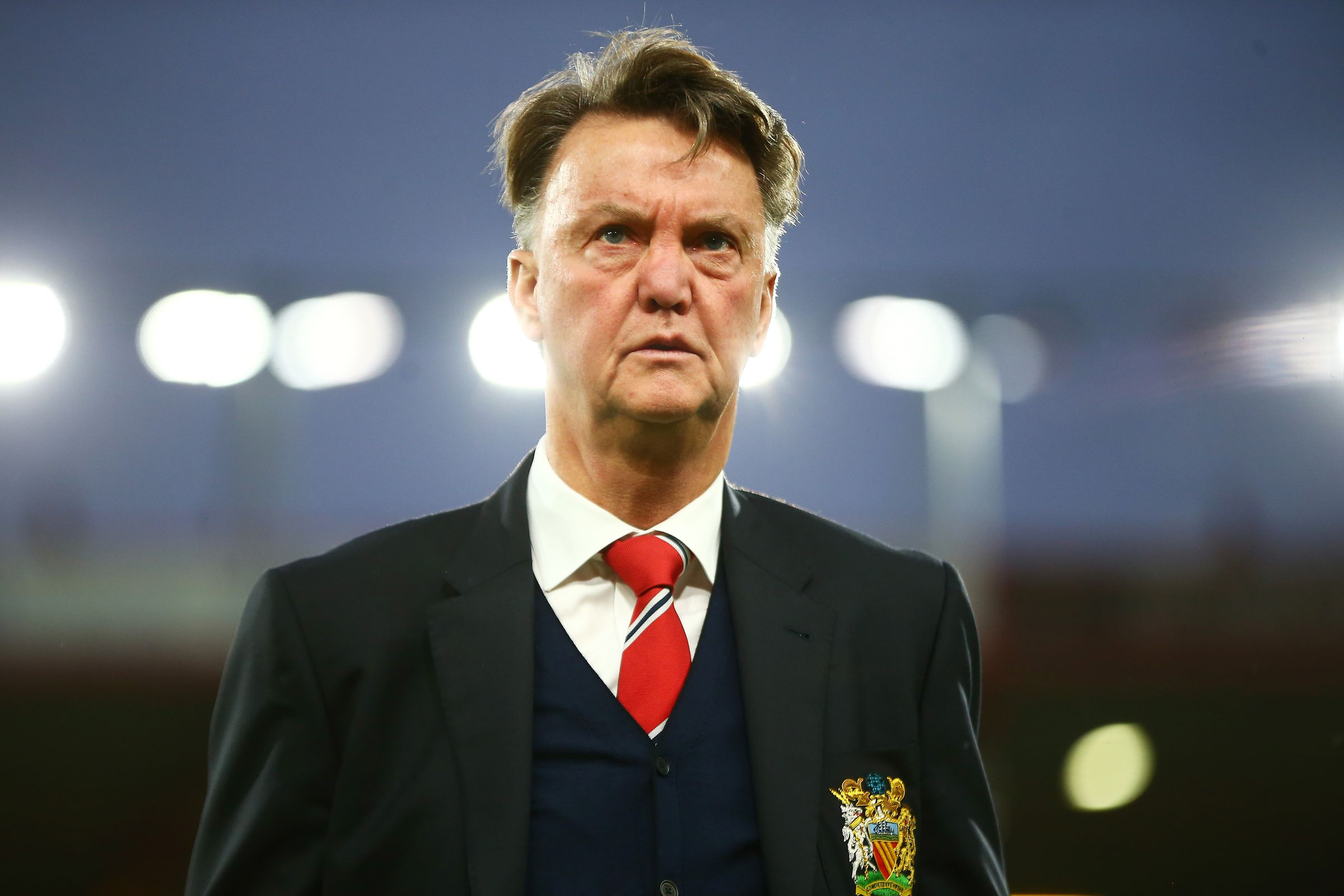 Jose Mourinho tells Louis van Gaal: 'I want the Man United job'