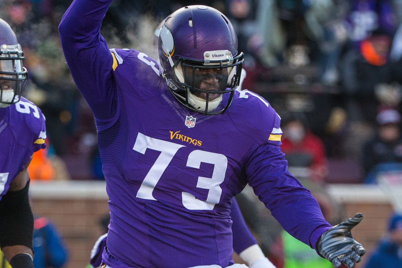NFL Jerseys Outlet - Sharrif Floyd has the Vikings doing a happy dance - SBNation.com