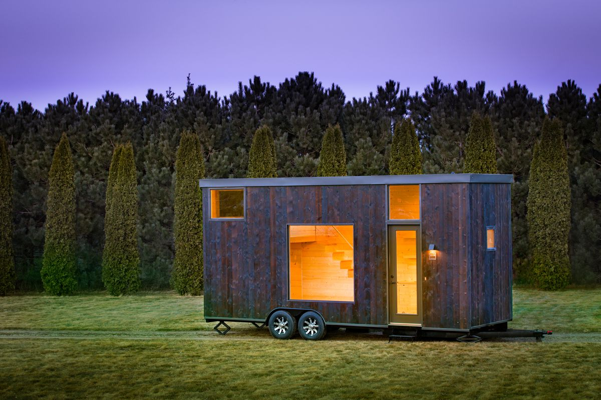 New tiny house is a calming blank slate Curbed