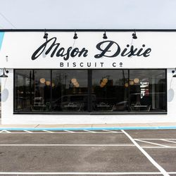 The debut Mason Dixie Biscuit Co. Drive-Thru.