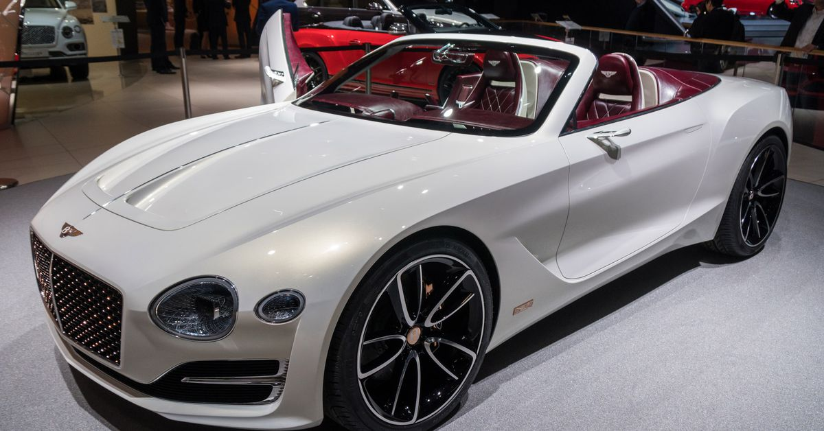 Bentley challenges Tesla's idea of electric luxury with a ...