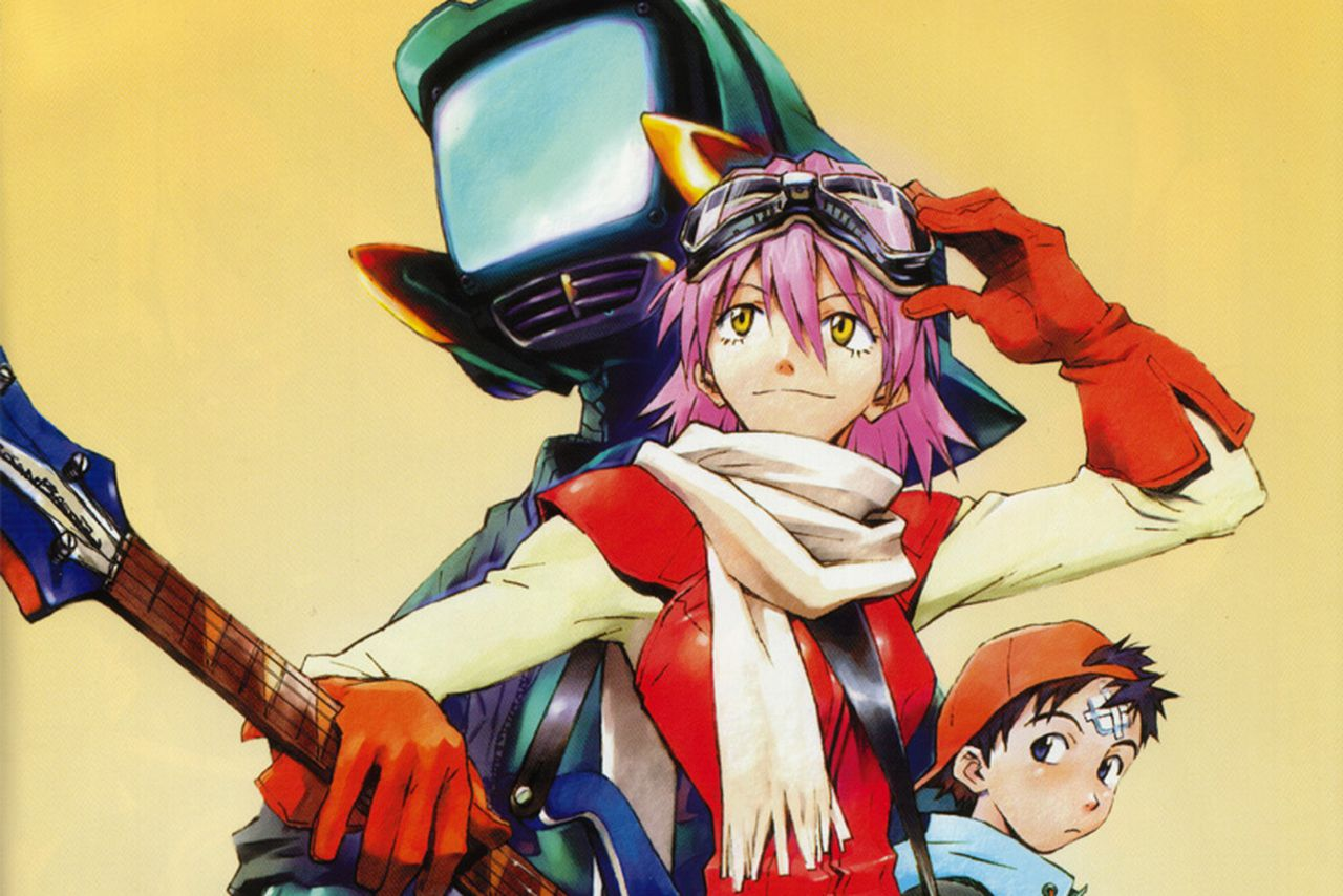 anime shows new: Cult Anime Series FLCL Is Returning For Two New Seasons