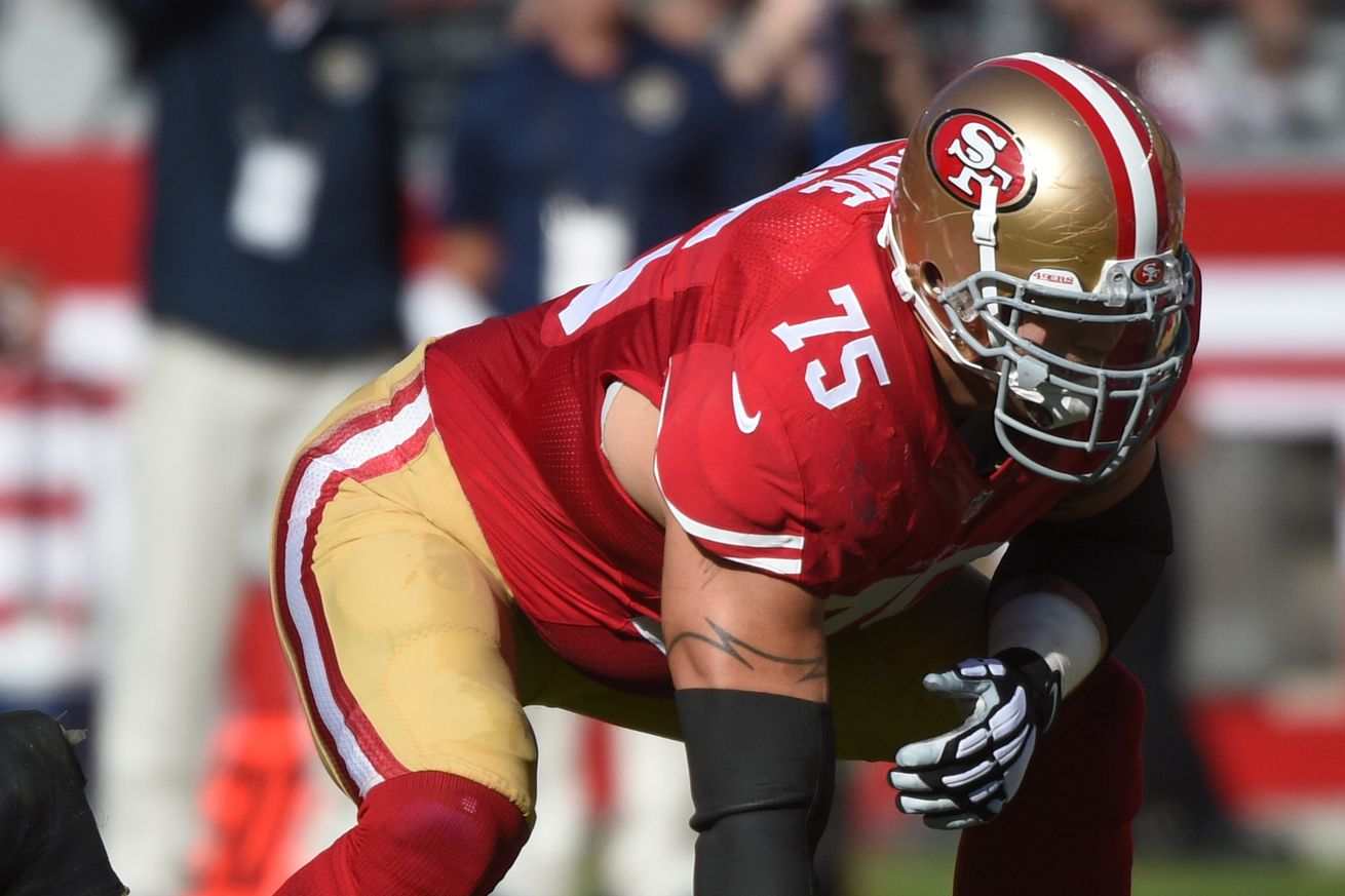 nfl San Francisco 49ers Alex Boone GAME Jerseys