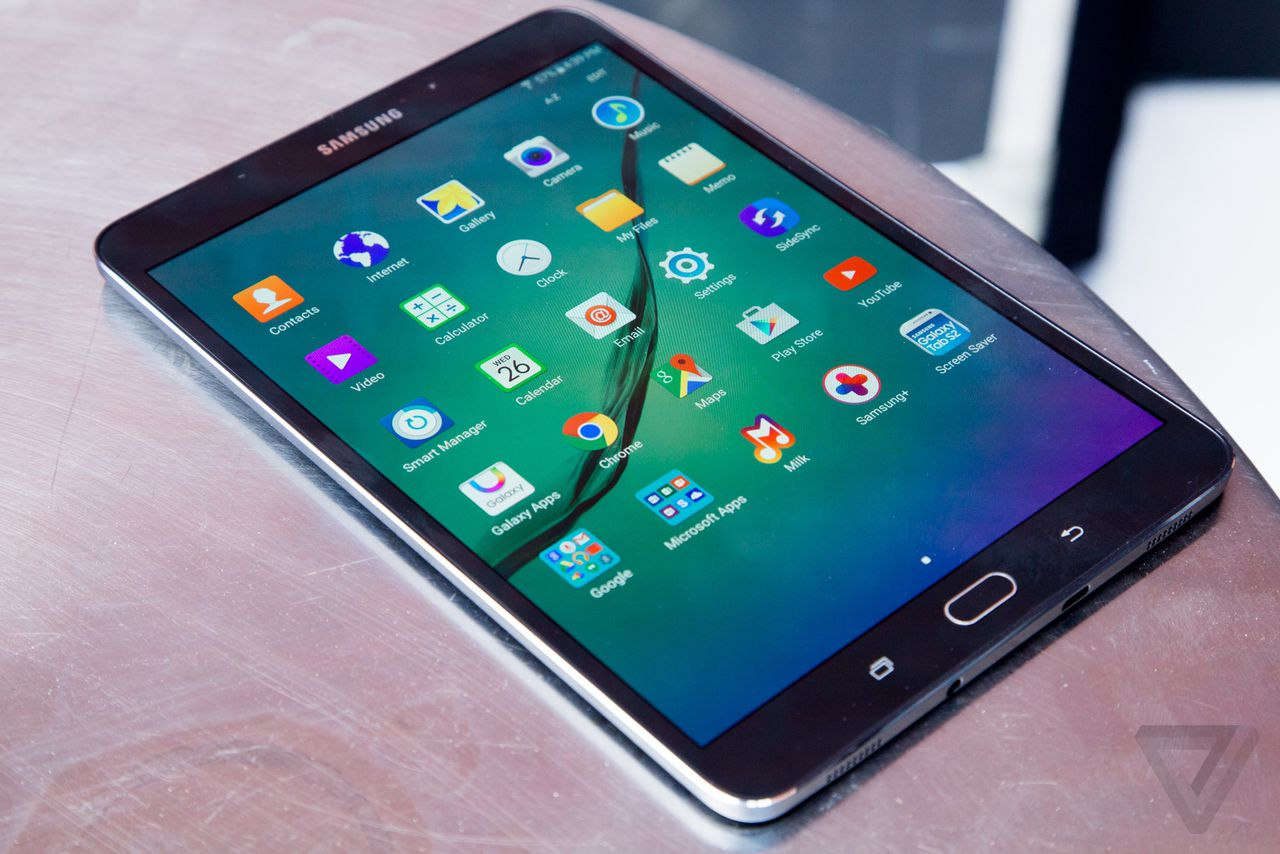 Samsung's latest tablet, the Galaxy Tab S2, is all about ...