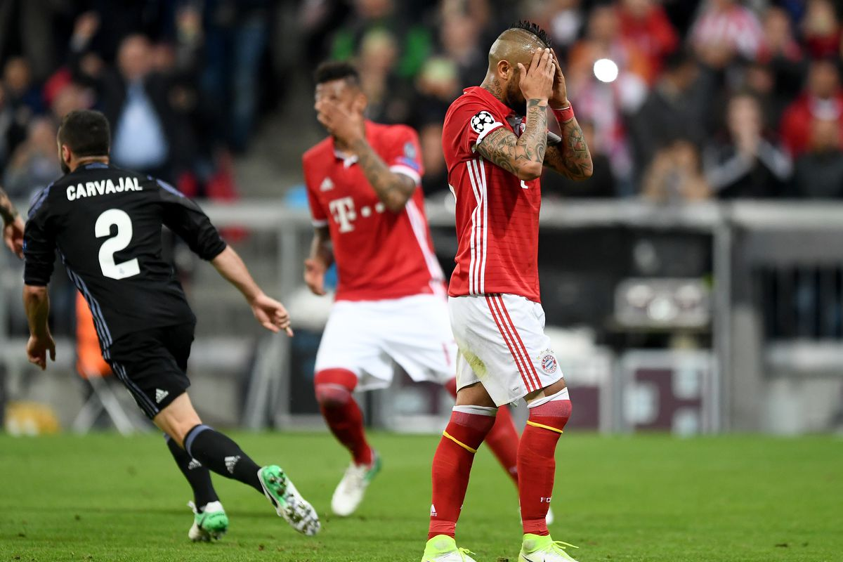 Real overpower Bayern in Champions League game