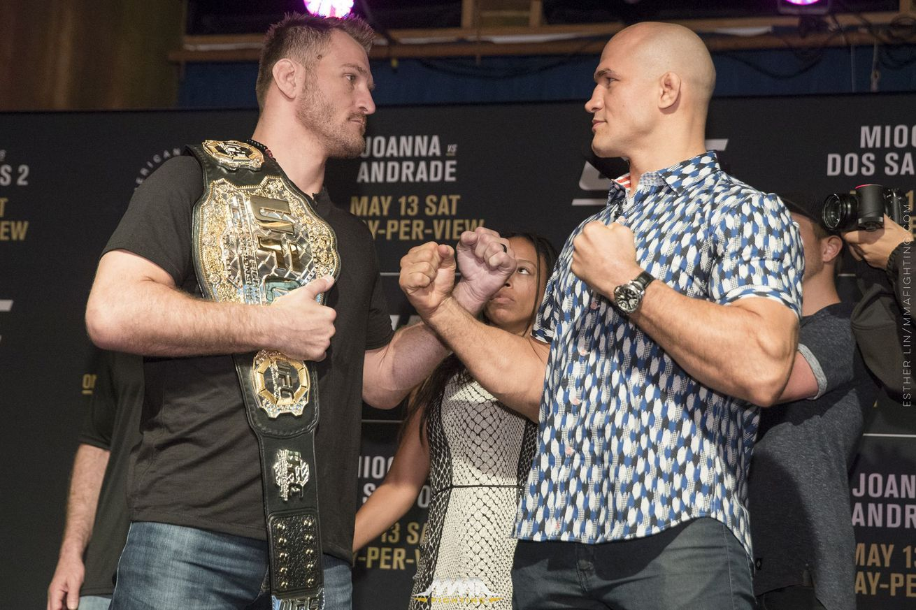 UFC 211 start time, TV schedule for Stipe Miocic vs. Junior dos Santos 2