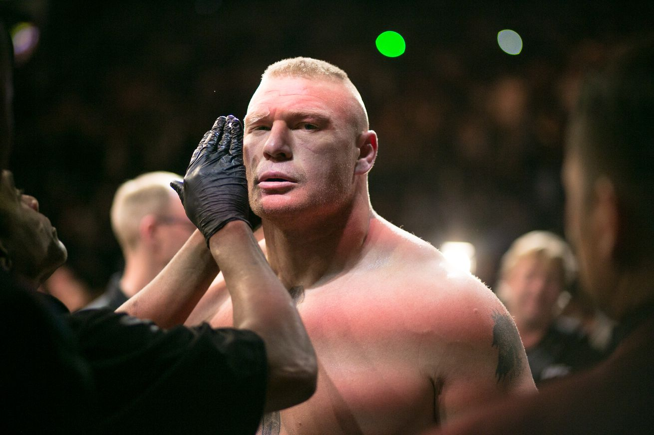 Report: Brock Lesnar, Lorenz Larkin, Rick Story and more removed from UFC active roster