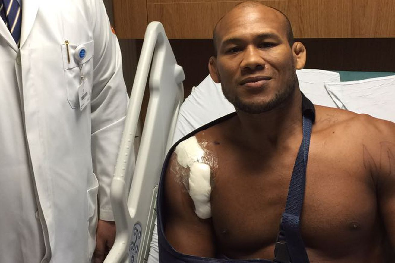 'Jacare' Souza undergoes surgery for pectoral rupture