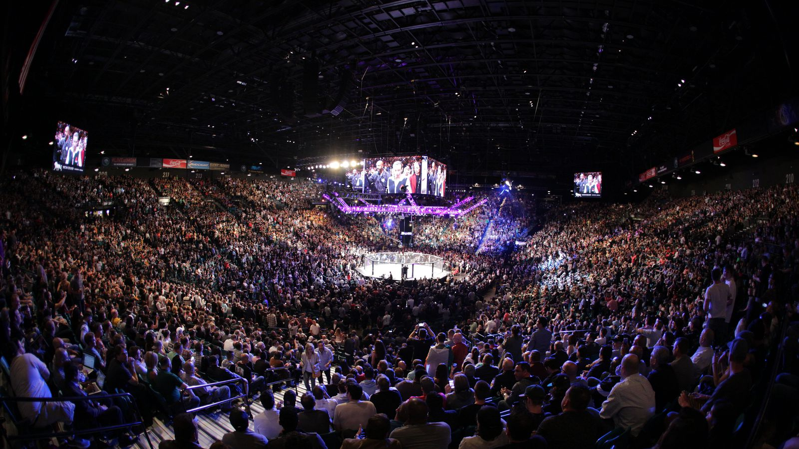 ufc 214 from inside honda center moved to july 29   mmamania